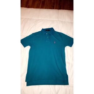 💎Polo Ralph Lauren  Blue Polo Shirt Men's Small💎